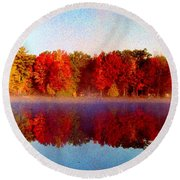 The Other Side... Round Beach Towel