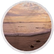 The Pace Of Topsail Round Beach Towel