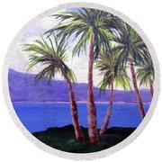 The Palms Round Beach Towel