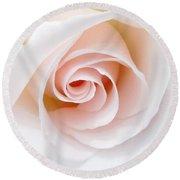 The Pastel Rose Round Beach Towel