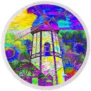 The Pastoral Dreamscape 20130730 Round Beach Towel