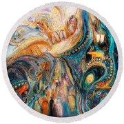 The Patriarchs Series - Moses Round Beach Towel