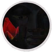 The Peaceable Haunting Round Beach Towel