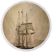 The Peacemaker Round Beach Towel