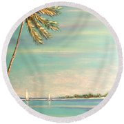 The Perfect Day Round Beach Towel