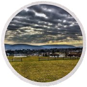 The Perfect View Round Beach Towel