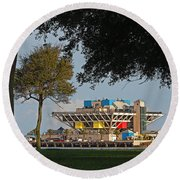 The Pier - St. Petersburg Fl Round Beach Towel
