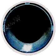 The Pipes Of Peace Round Beach Towel