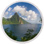 The Piton Round Beach Towel