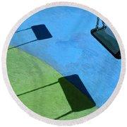 The Playground Round Beach Towel