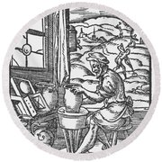 The Potter, 1574 Round Beach Towel