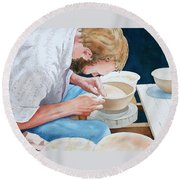 The Potter Round Beach Towel