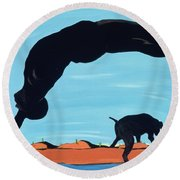 The Pride Of Chestertown, 2000 Round Beach Towel