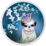 The Princess Round Beach Towel