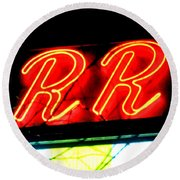 The R And R Round Beach Towel
