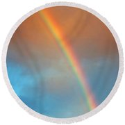 The Rainbow Round Beach Towel