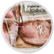 The Reading Phillies Round Beach Towel