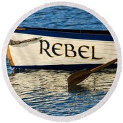 The Rebel Round Beach Towel