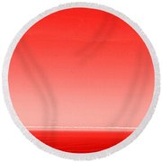The Red Sea Round Beach Towel