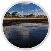 The Reflected Sky Round Beach Towel