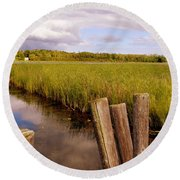 The Reflection 2 Round Beach Towel