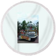 The Rest Is Magic Round Beach Towel