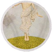 The Resurrection Of Christ Round Beach Towel
