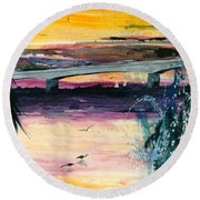 The Ringling Round Beach Towel