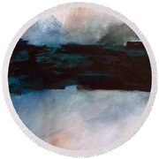 The River Tethys Part 1 Of Three Round Beach Towel