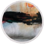 The River Tethys Part Three Of Three Round Beach Towel