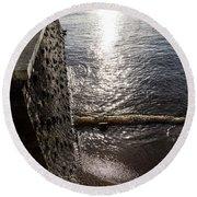 The River's Edge Round Beach Towel