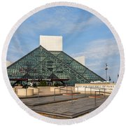 The Rock Hall Round Beach Towel