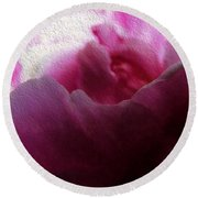 The Rose  Round Beach Towel
