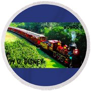 The Roy O. Disney Round Beach Towel