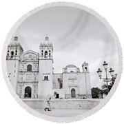 The Santo Domingo Round Beach Towel