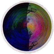 The Scape Round Beach Towel
