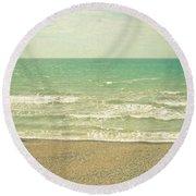 The Sea The Sea Round Beach Towel