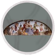 The Selling Of Joseph Round Beach Towel