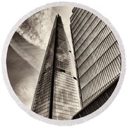 The Shard - The View Round Beach Towel