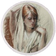 The Shawl Round Beach Towel