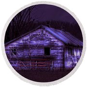 The Shed Round Beach Towel