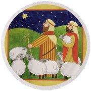 The Shepherds Round Beach Towel