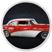 The Special 1957 Buick Round Beach Towel