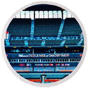 The Stands At Oriole Park Round Beach Towel