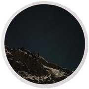 The Stars In The Sky Round Beach Towel