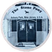 The Stone Pony Cool Round Beach Towel