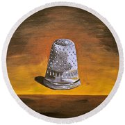 The Thimble Round Beach Towel