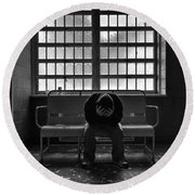 The Unforgiven Round Beach Towel
