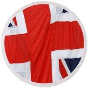 The Union Jack Round Beach Towel