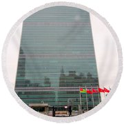 The United Nations Round Beach Towel